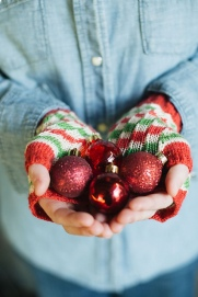 Image of Bubble & Squeak Fingerless Mitts Copyright Jane Burns